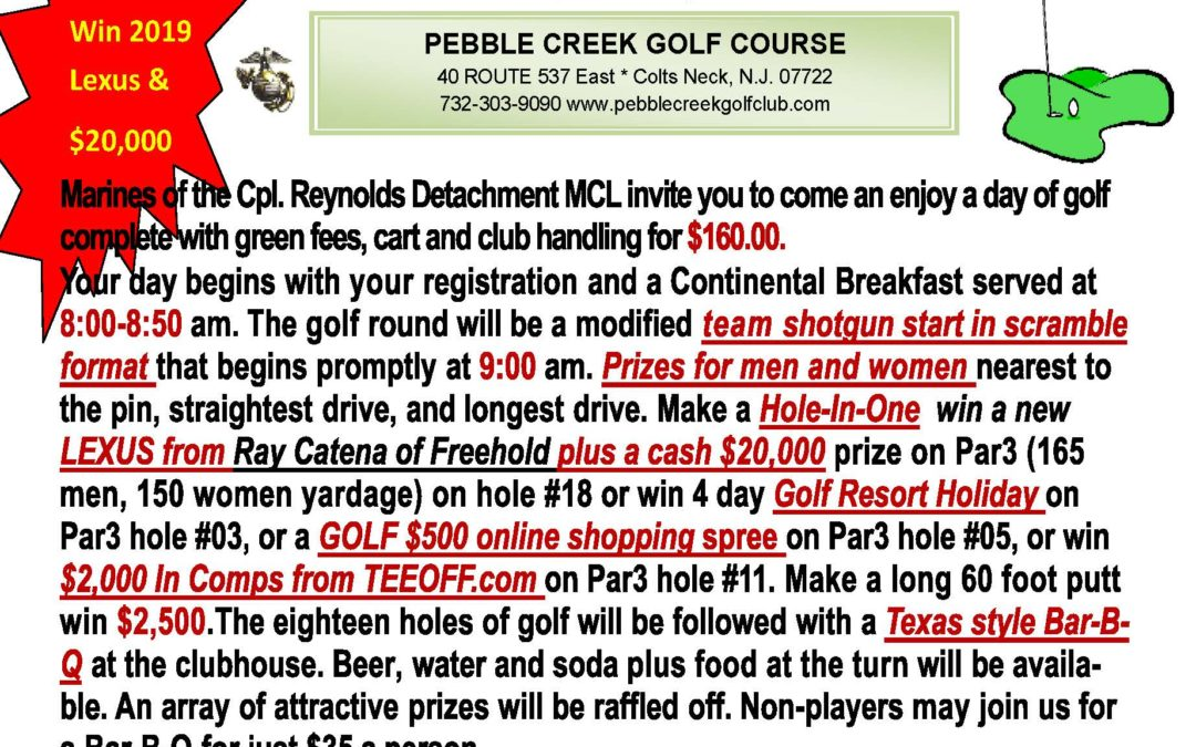 Reynolds Detachment Golf outing