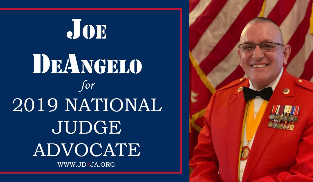 Joseph DeAngelo for National Judge Advocate