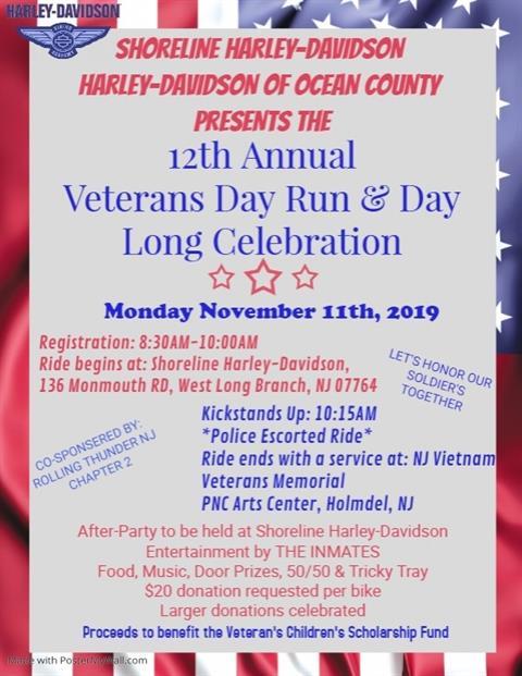 12th Annual Veteran's Day Run