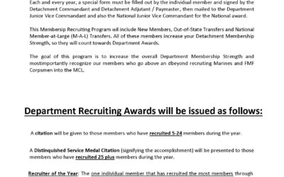 2020 Recruiter Award Nomination Form Now Available for Download