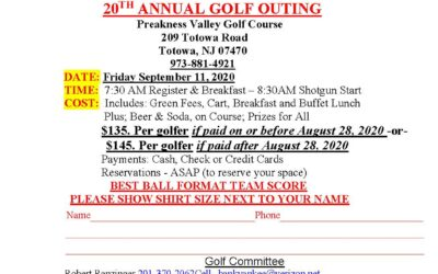 Lakeland Detachment 20th Annual Golf Outing