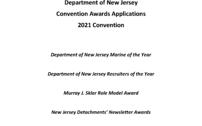 2021Convention Awards Application are Now Available!