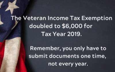 Veteran Income Tax Exemption